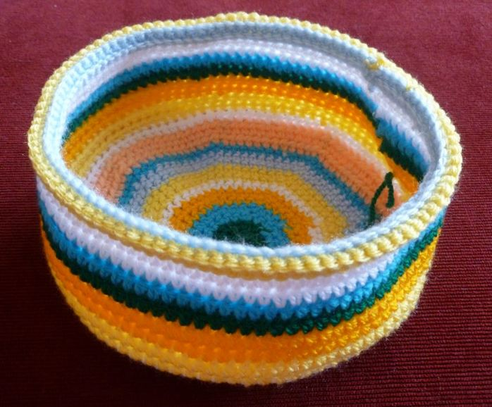 crochet technique front loop only