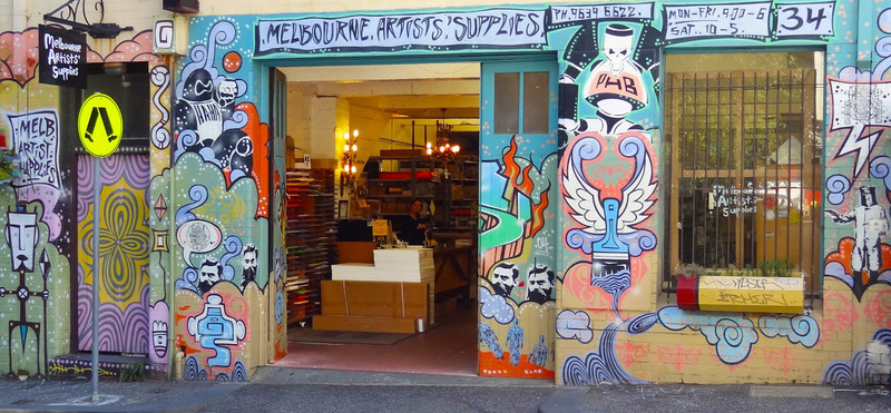 5 places to buy craft supplies in melbourne 39 s cbd classie for Places that buy art